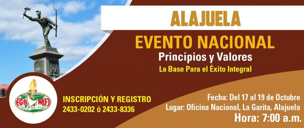 Alajuela Evento Nacional